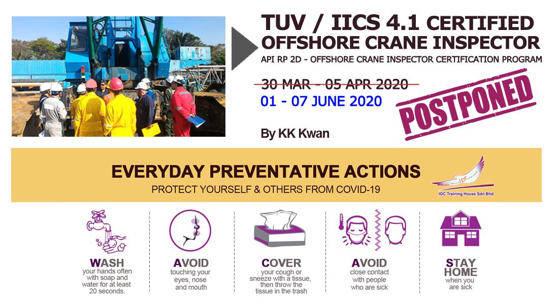 Class POSTPONED - IICS 4.1 Offshore Crane Inspector