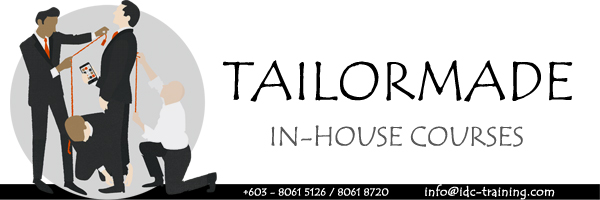 Tailor Made In-House Courses